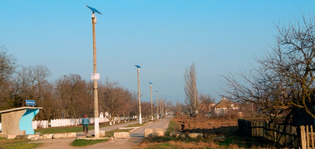 Stand-alone street lighting