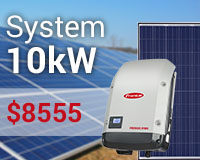 Feed-in tariff with Fronius & JA Solar: prices down!