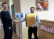 Fronius Golden Inverter for Atmosfera