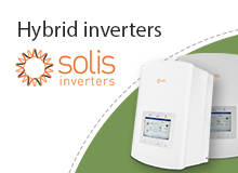 Hybrid inverters by Solis